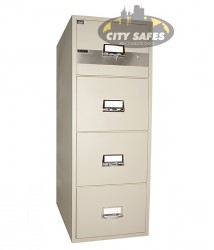 Chubb-FILE350b -CFIL4D-2H - Fire Resistant Filing Cabinets