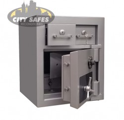 CMI-PREMIER DEPOSIT with float drawer-PR2DEP-770-CK - Deposit Safes