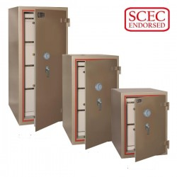 CMI-SECURITY CLASS B FILING CABINETS-GFP3B (3 drawer) - SCEC Endorsed & Government Safes